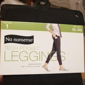 34124caa78e78 No Nonsense Tech Pocket Leggings